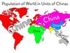 Populacja świata w j...
