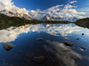 Lac de Chésery, Alpy...