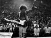 Jimi Hendrix na scen...