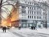 Helsinki zimą