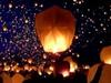 Sky lantern festival...