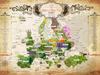 Mapa ziół w Europie.