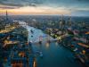 Londyn o zmierzchu,...